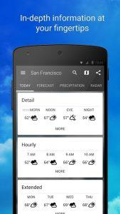 1Weather Widget Forecast Radar Pro 4.9 APK Free Download 4