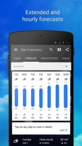 1Weather Widget Forecast Radar Pro 4.9 APK Free Download 2