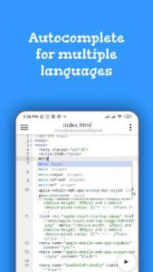 Code editor 1.1.14 APK Free Download 4
