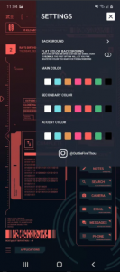 Cyberpunk Theme for KLWP 2020 APK Free Download 3