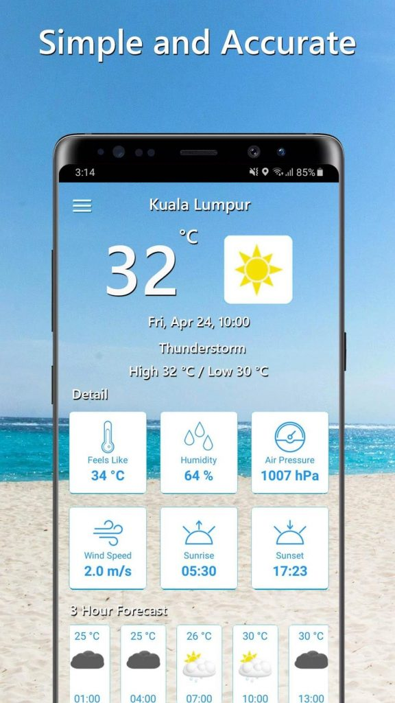 Temperature Today 1.0.9 APK Free Download 1