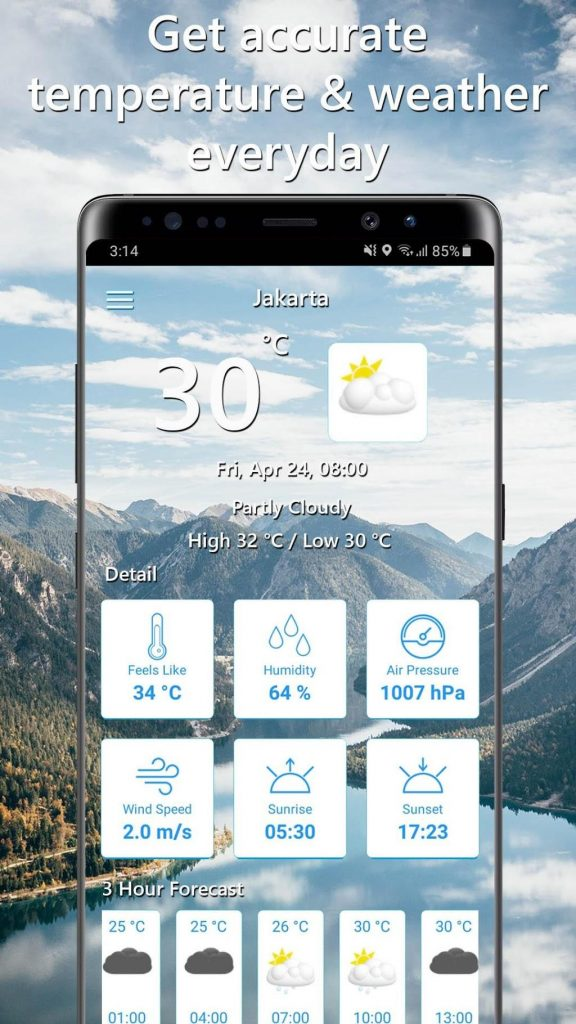 Temperature Today 1.0.9 APK Free Download 2