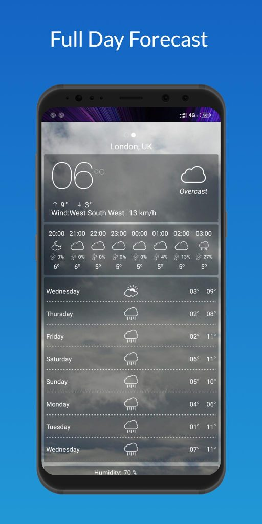 Weather Forecast 2020 – Pro Version 2.0.1 APK Free Download 3