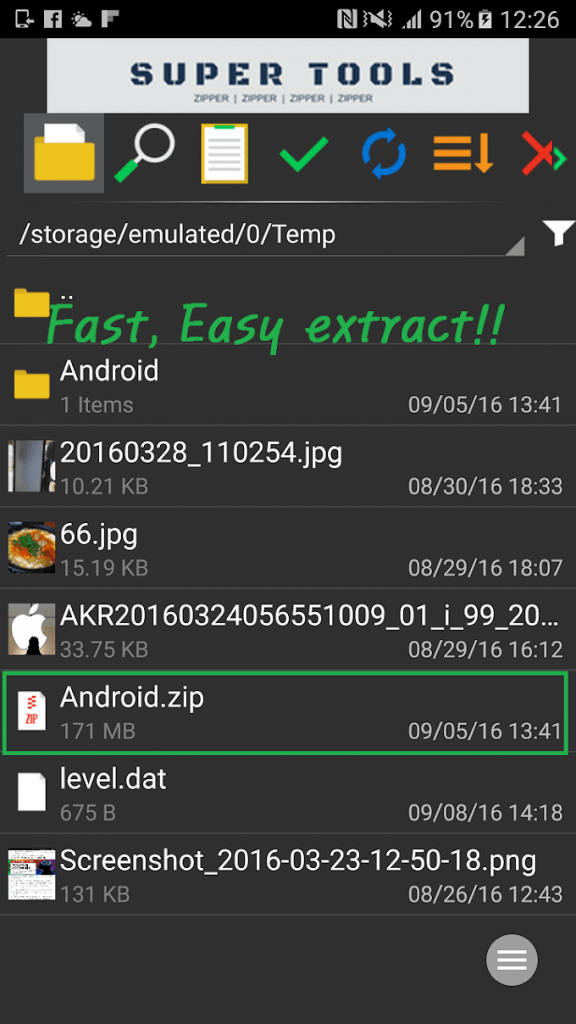 7Zipper – File Explorer 3.10.67 for Android Free Download 2