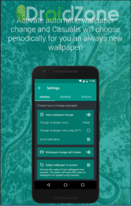 Casualis 6.4 Auto wallpaper change APK Free Download 1