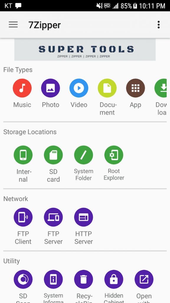 7Zipper – File Explorer 3.10.67 for Android Free Download 1