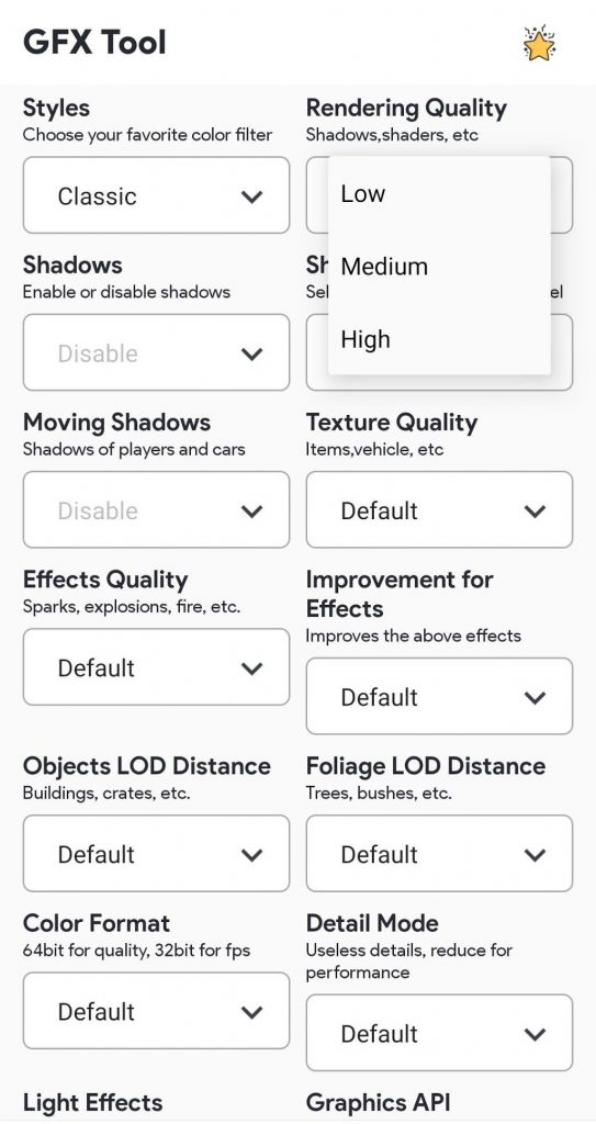GFX tools pro for Game Booster 1.0.22 APK Free Download 3