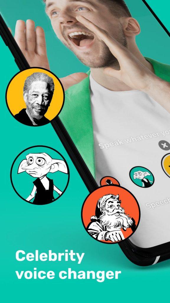 Celebrity voice changer: Superhero voice effects 2021 APK Free Download 2