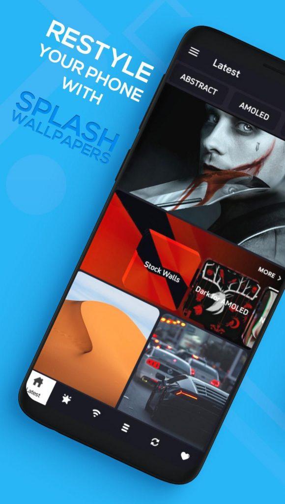 Splash Wallpapers – 4K HD & Live Wallpapers VIP 1.r APK Free Download 1