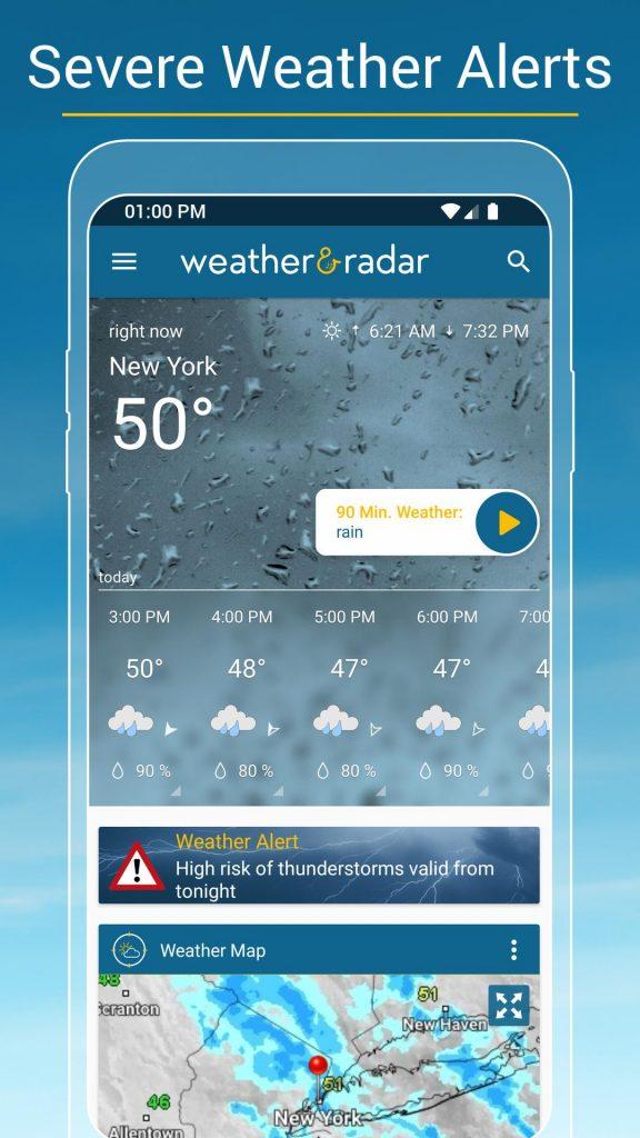 Weather & Radar USA – Storm alerts -ad free 2021.10 APK Free Download 3