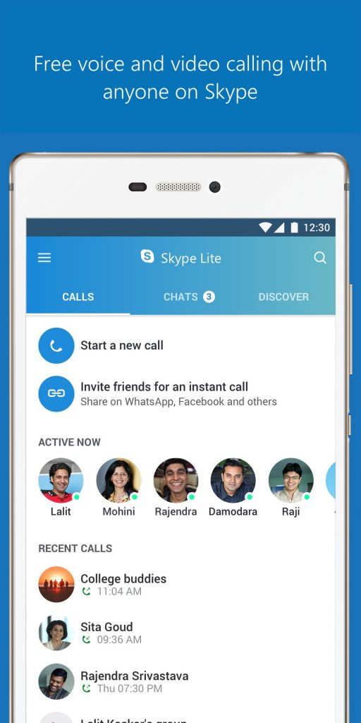 Skype Lite – Free Video Call & Chat v1.88.76.1 APK Free Download 1