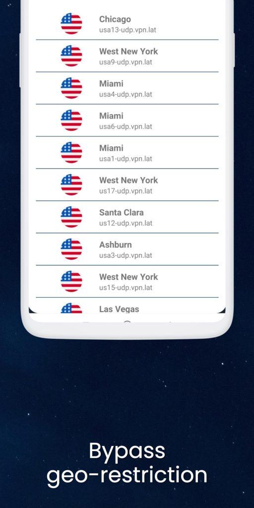VPN – USA, Canada, Europe, Latam v3.8.3.6.0.4 Pro APK Free Download 1