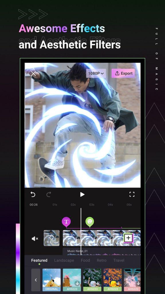 Videap – Cool Video Editor & Video Maker 2.0.1 APK Free Download 2