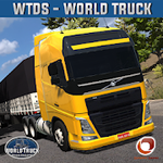 Free Download World Truck Driving Simulator v1.187 (Mod Money) APK