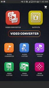 Video Converter Compressor MP4, 3GP, MKV,MOV, AVI 0.4.3 APK Free Download 3