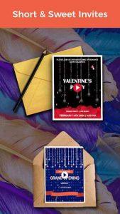 Video Invitation Maker Birthday eCards & Invites 39 APK Download 3