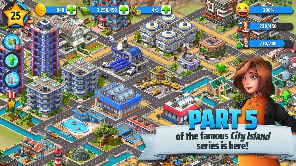 City Island 5 – Tycoon Building Simulation Offline APK Free Download 3