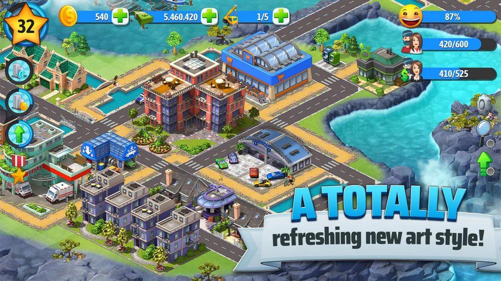 City Island 5 – Tycoon Building Simulation Offline APK Free Download 5
