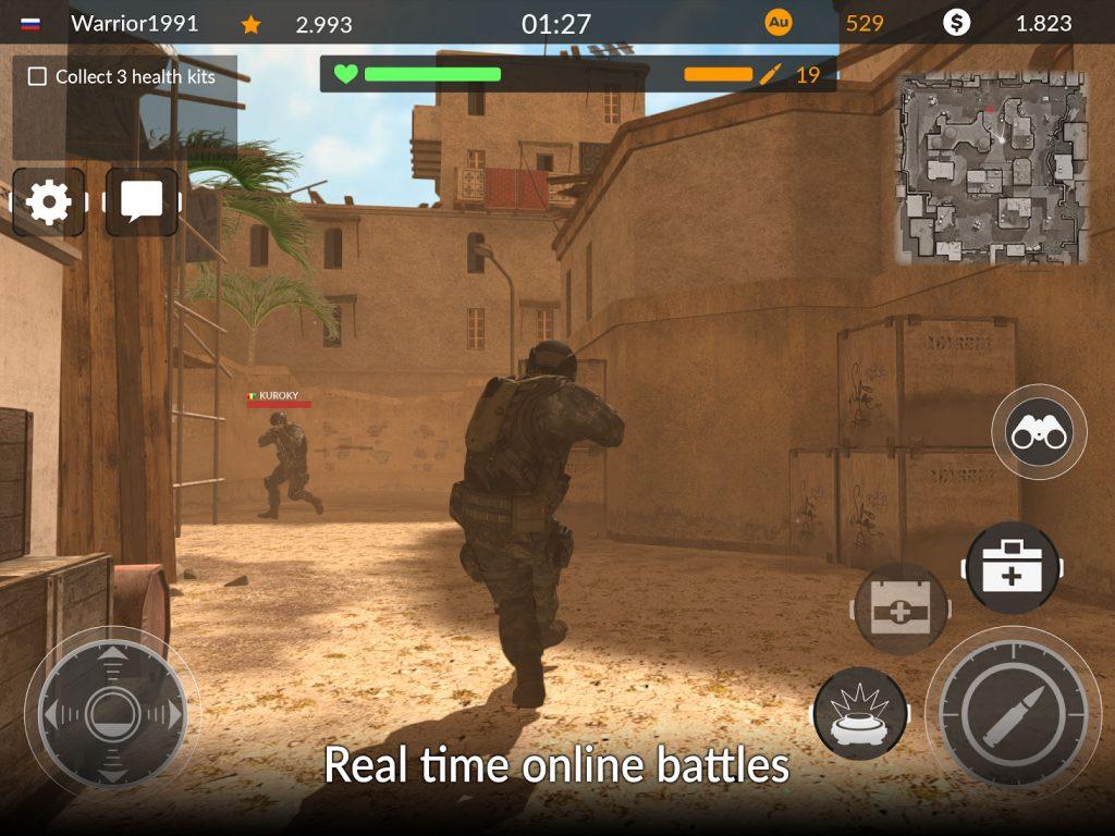 Code of War Shooter Online APK Free Download 3