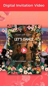 Video Invitation Maker Birthday eCards & Invites 39 APK Download 2