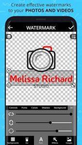 Add Watermark on Videos & Photos Premium 1.8 APK Free Download 1