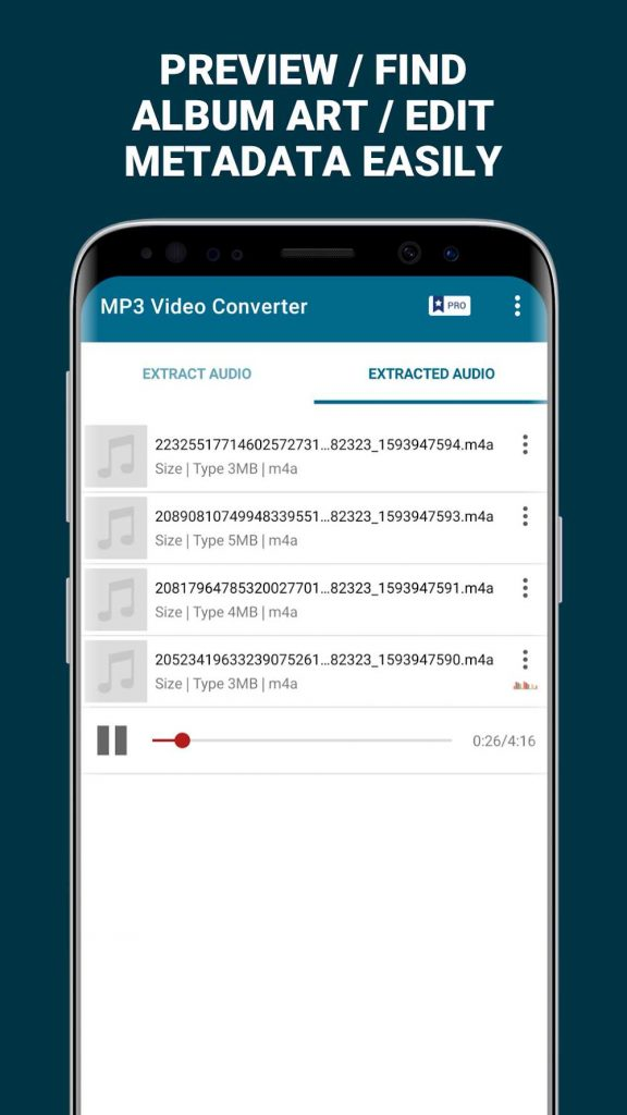 MP3 Video Converter Extract music from videos Premium 3.5 APK Download 3