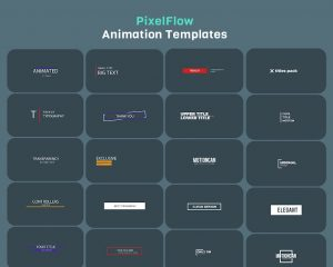 PixelFlow Intro Maker and Text Animator PRO 2.2.3 APK Download 3