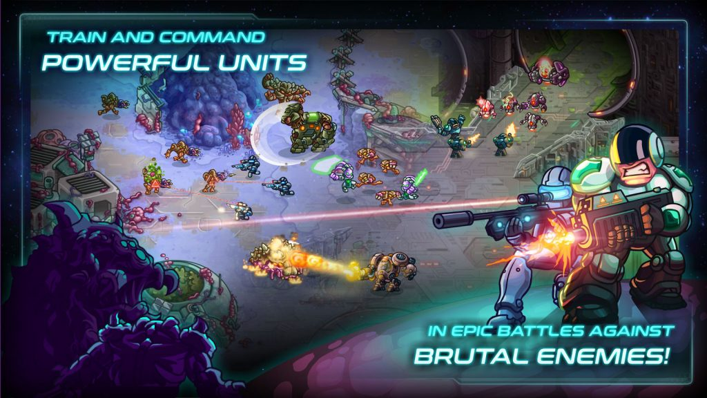 Iron Marines RTS Offline Real Time Strategy Game APK Free Download 2