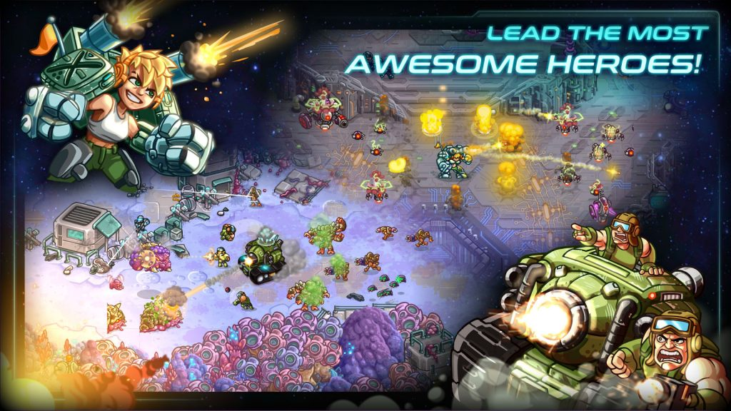 Iron Marines RTS Offline Real Time Strategy Game APK Free Download 1
