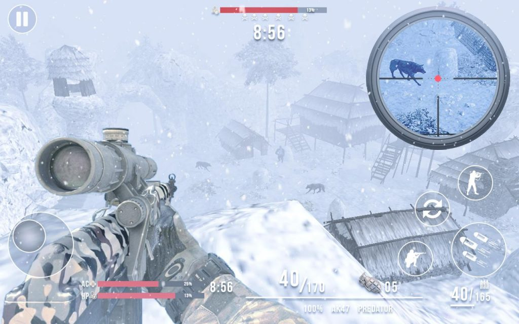 Last Day of Winter – FPS Frontline Shooter 1.2.1 APK Free Download 3