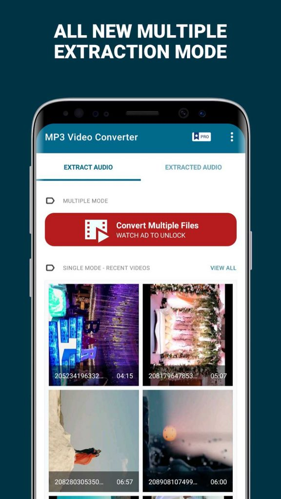 MP3 Video Converter Extract music from videos Premium 3.5 APK Download 2