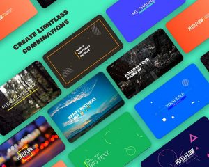 PixelFlow Intro Maker and Text Animator PRO 2.2.3 APK Download 1