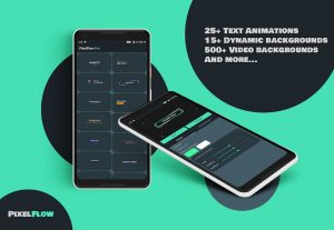 PixelFlow Intro Maker and Text Animator PRO 2.2.3 APK Download 2