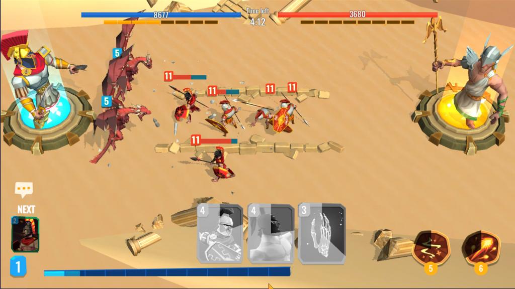 Trojan War 2 Clash Cards Game 1.0.6 APK Free Download 2
