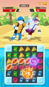 Match Hit Puzzle Fighter 1.4.1 Mod APK Free Download 1