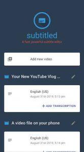 Subtitled Pro Subtitle Editor 1.0.9026 APK Free Download 1