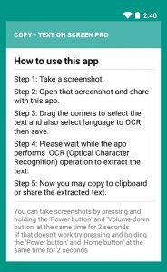 Copy Text On Screen Pro 2.5.4-146 Mod APK Free Download 2