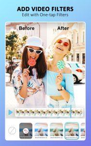 YouCam Video Editor Makeup, Retouch & Selfie Edit 1.10.0 APK 1